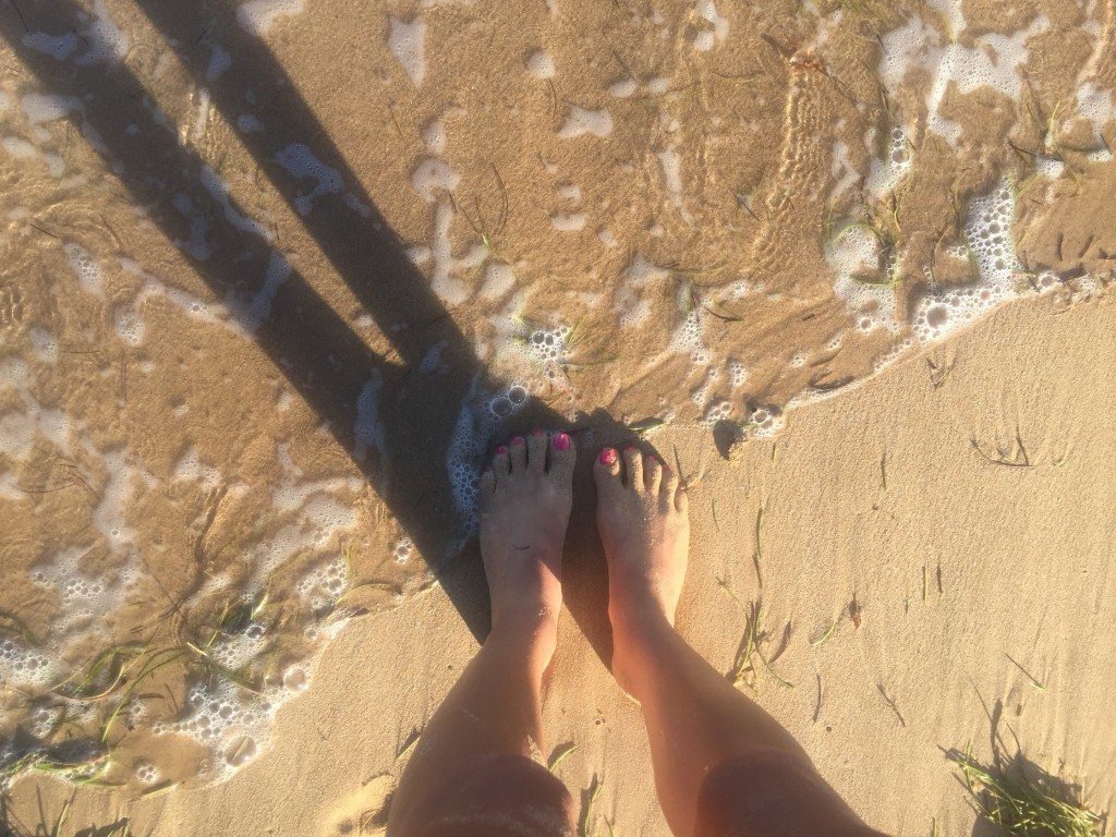 still obsessed with feet in ocean/sand pics. #fromwhereIstand
