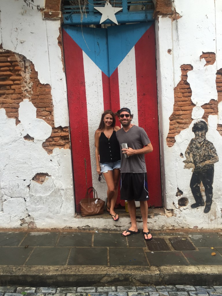 several trips to Old San Juan to scout out wedding locations.