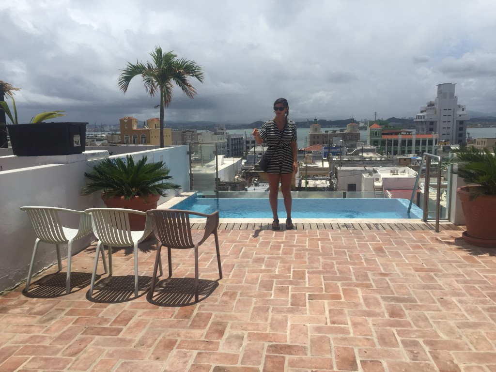 location found! rooftop terrace in Old San Juan!